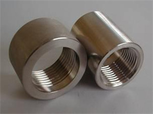 ASTM A182 F310H SS steel threaded coupling