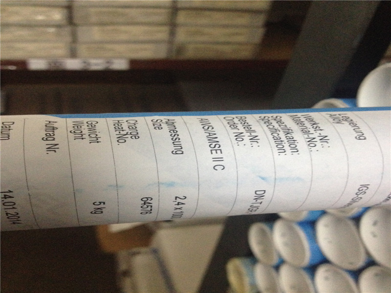 ER385 welding wire for duplex steel 904L N08904