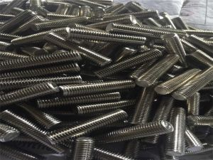 Hastelloy C276 threaded rod