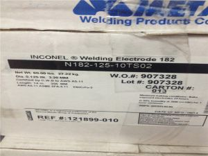 ENiCrFe-3 welding electrodes for Inconel 600 N06600