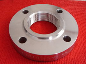 DIN2566 threaded flange with neck PN16