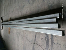 ASTM A106 GR.B square pipe hot galvanized 50MM*50MM*3.2MM*6000mm