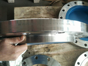 ASTM A182 F316L SO flange DN400 150#
