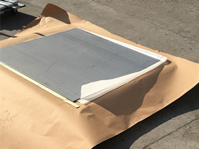 ASTM A240 321 sheet 2mm thickness