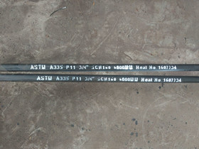 ASTM A335 P11 steel pipe 3/4