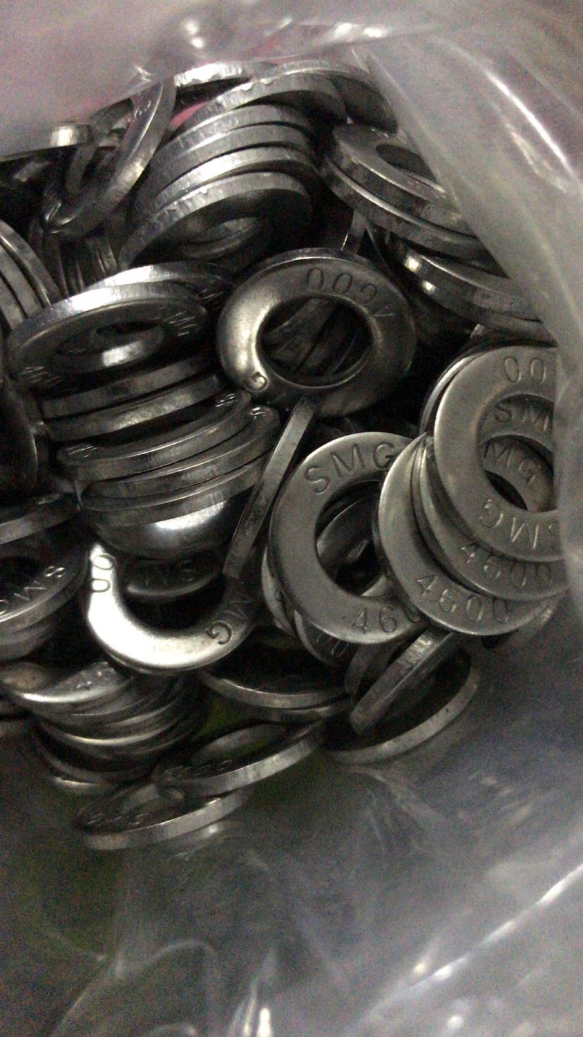 Hastealloy B3 washer 3/8