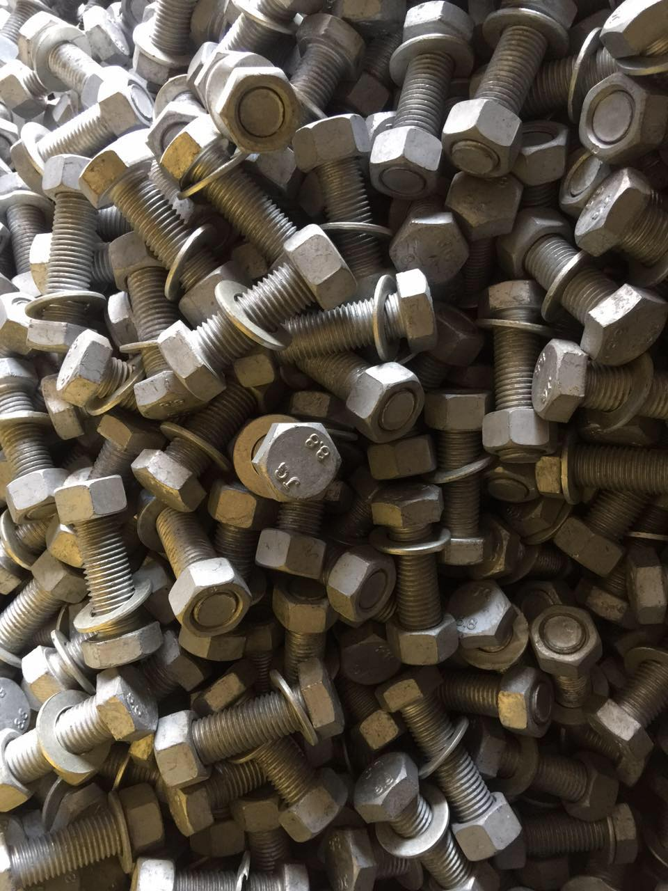 Grade 8.8 M20 Hot Dip Galvanized Hex Bolt with Nut