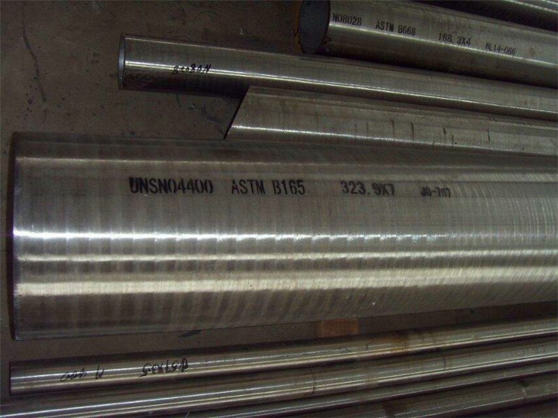 ASTM B165 UNS N04400 Nickel-Copper Alloy  Seamless Pipe  Tube